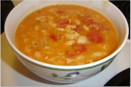 Easy pasta fagioli soup recipe